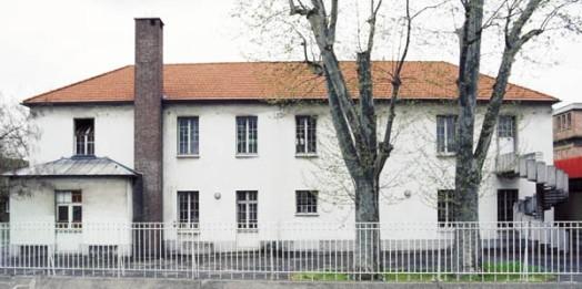 Derniers vestiges du château  démolis en 1997 pour la rénovation du collège Louis Pasteur.