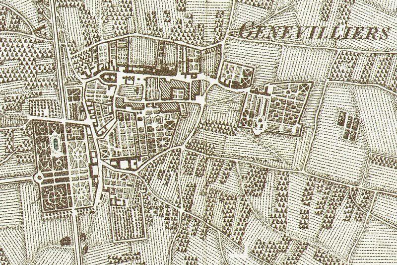 Carte des Chasses extrait village